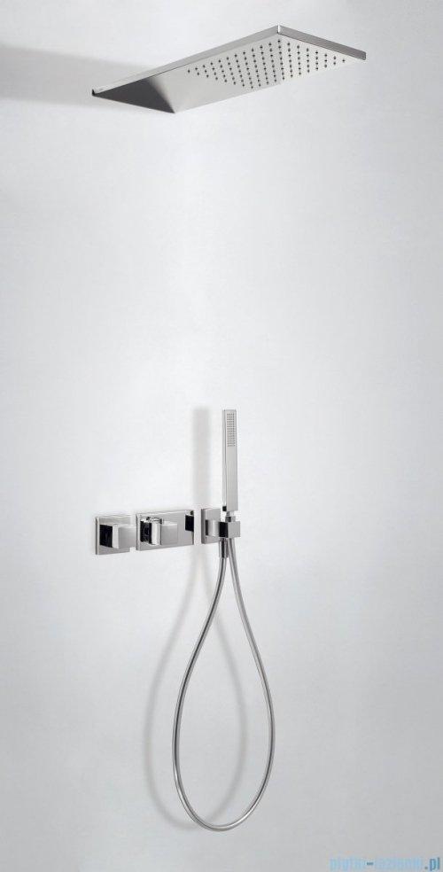 Tres Slim Exclusive zestaw prysznicowy z baterią termostatyczną chrom 207.252.02