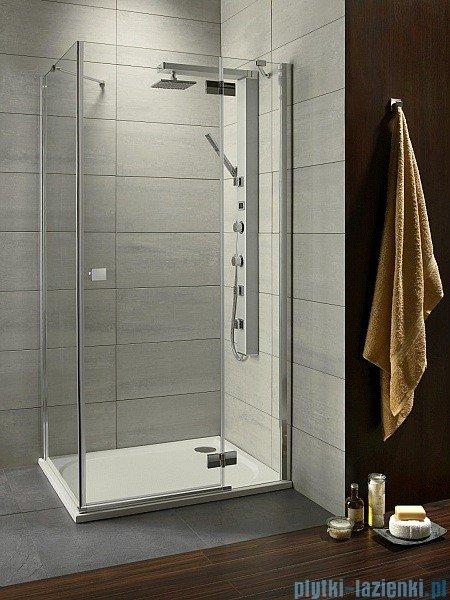 Radaway Kabina prysznicowa Almatea KDJ 100x90 prawa szkło brązowe