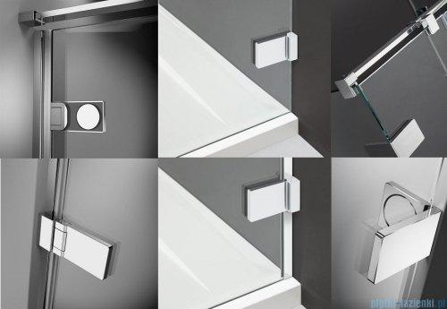 Radaway Arta Kds I kabina 100x90cm lewa szkło przejrzyste + brodzik Doros D + syfon