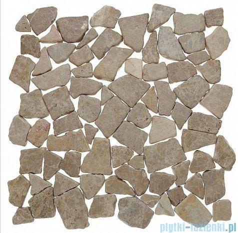 Dunin Zen mozaika kamienna 30x30 grind stone beige