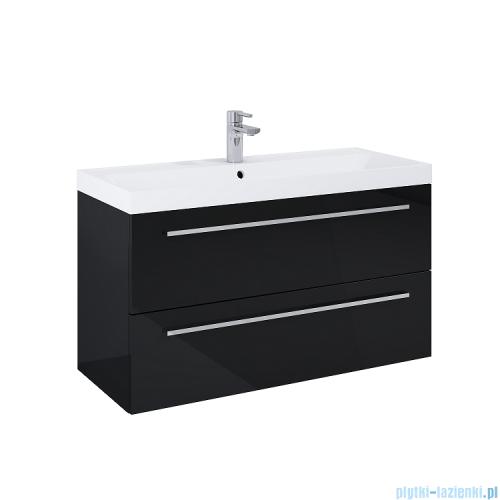 Elita Kwadro Plus szafka z umywalką 1000x53x40cm black 167648/22052009N