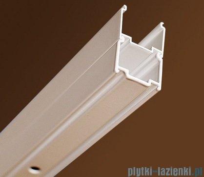 Ravak Blix BLDP2 drzwi prysznicowe 110cm satyna transparent Anticalc 0PVD0U00Z1