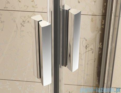 Ravak Blix BLDP4 drzwi prysznicowe 190cm białe transparent Anticalc 0YVL0100Z1