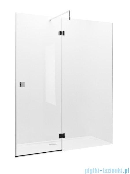 Roca Metropolis drzwi prysznicowe 140cm szkło przejrzyste