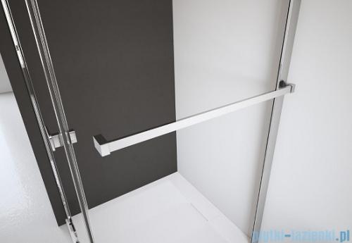 Radaway Euphoria KDJ Kabina prysznicowa 90x90 lewa szkło przejrzyste wieszak na ręcznik
