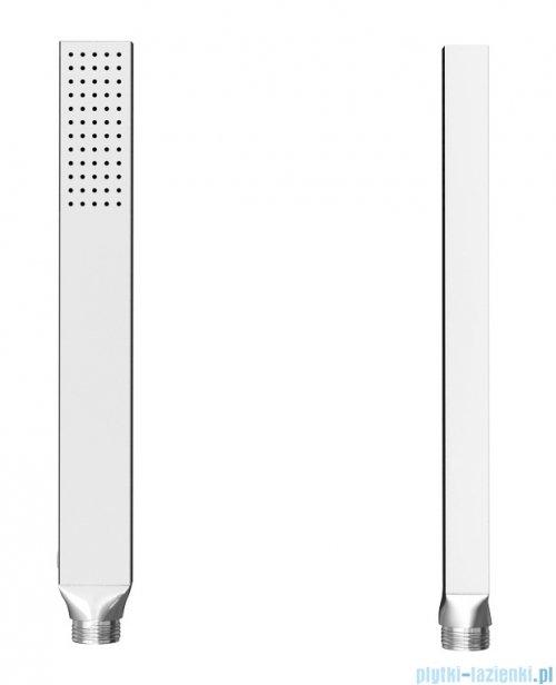 Kohlman Excelent zestaw prysznicowy z baterią termostatyczną chrom słuchawka