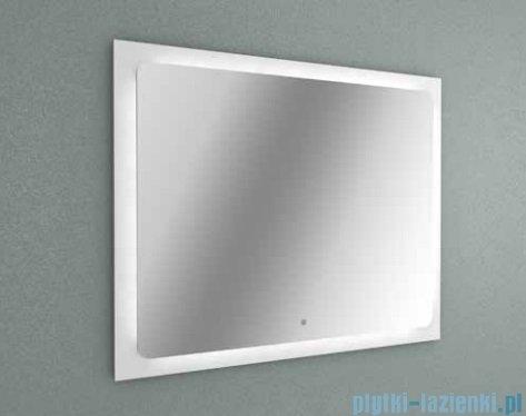 New Trendy lustro Led 80x65 cm biały połysk ML-LU80