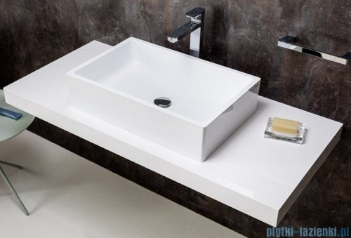 Ravak Formy blat pod umywalkę L 1200 biały X000000832