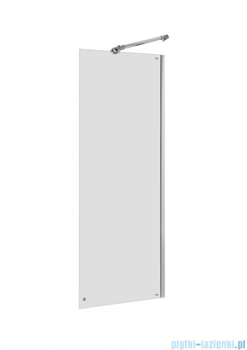 Roca Capital ścianka kabina walk-in 90x195cm przejrzyste
