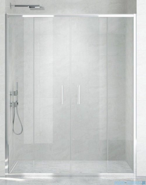 New Trendy New Corrina drzwi prysznicowe 160cm przejrzyste D-0185A