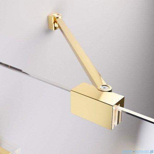 Radaway Essenza Pro Gold Kdj kabina 110x110cm lewa przejrzyste 10097110-09-01L/10098110-01-01