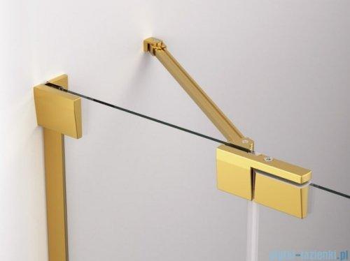 SanSwiss Cadura Gold Line drzwi wahadłowe 75cm jednoczęściowe prawe z polem stałym CA13D0751207