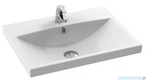 New Trendy umywalka ceramiczna z otworem na baterię 60 cm U-0082