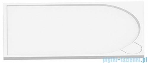 New Trendy Fluo brodzik prostokątny z konglomeratu 140x80x3 cm