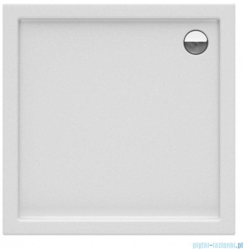 New Trendy Columbus brodzik kwadratowy zintegrowany 100x100x14cm
