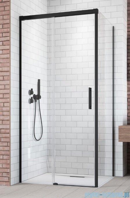 Radaway Idea Black Kdj drzwi 110cm lewe szkło przejrzyste 387041-54-01L