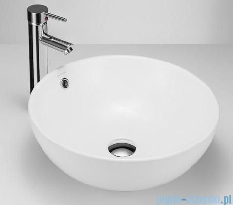 Massi Bol umywalka nablatowa 38x15,5cm biała