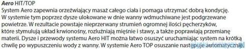 Riho Dorado wanna asymetryczna 170x75cm lewa z hydromasażem HIT Aero12 BA81H1