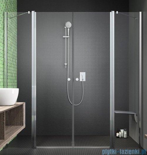 Radaway Eos II Dwd drzwi prysznicowe 190x195 W1 szkło przejrzyste UltraClear