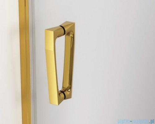 SanSwiss Cadura Gold Line drzwi przesuwne 130cm jednoskrzydłowe lewe z polem stałym CAS2G1301207