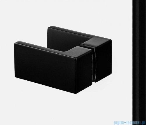New Trendy Avexa Black kabina kwadratowa 80x110x200 cm przejrzyste EXK-1839