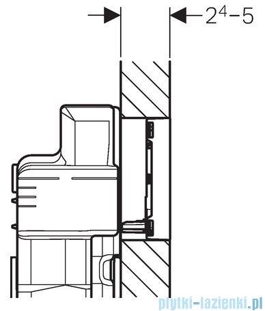 Geberit Sigma60 Przycisk uruchamiający przedni szkło umbra 115.640.SQ.1
