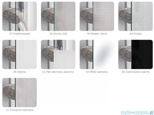 SanSwiss Pur PURDT2 Ścianka boczna 100-160cm profil chrom szkło przejrzyste PURDT2SM41007
