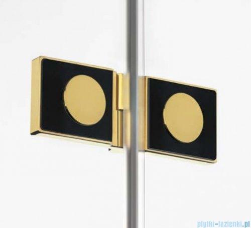 New Trendy Avexa Gold parawan nawannowy 2-częściowy 100x150 cm prawy przejrzyste EXK-2011