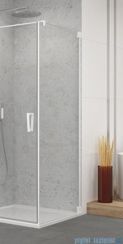 SanSwiss Cadura White Line ścianka boczna 90x200cm profile biały mat CAT10900907