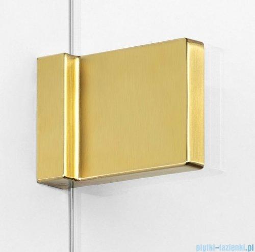 New Trendy Avexa Gold parawan nawannowy 2-częściowy 110x150 cm lewy przejrzyste EXK-2012