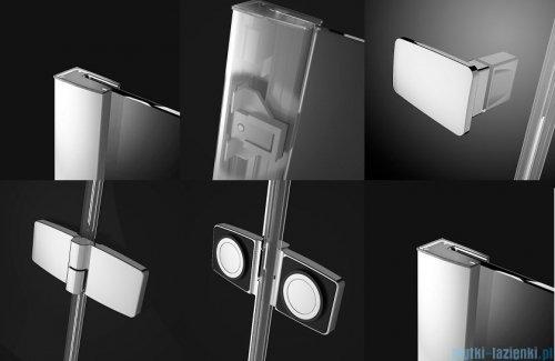 Radaway Fuenta New Kdj kabina 120x80cm lewa szkło przejrzyste + brodzik Doros D + syfon