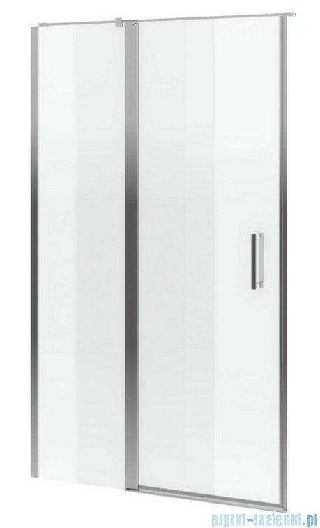 Excellent Mazo drzwi wnękowe wahadłowe 90 cm przejrzyste