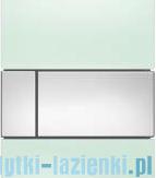 Tece Square przycisk do pisuaru szkło zielone, przyciski chrom połysk 9.242.805