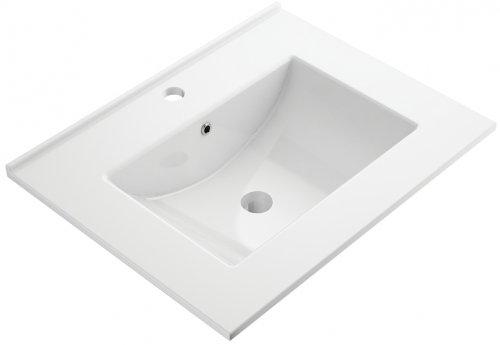 Omnires Orlando umywalka meblowa 61x47cm biała Orlando600BP