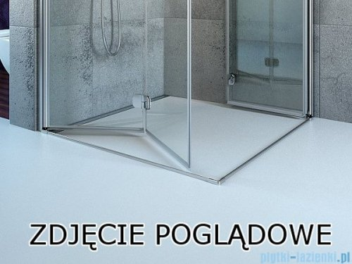 Radaway Essenza New Kdj kabina 110x120cm prawa szkło przejrzyste z progiem