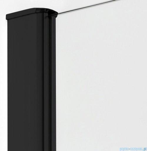 New Trendy New Komfort Black kabina asymetryczna 100x80x195cm przejrzyste K-0470