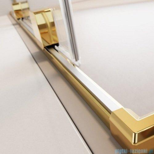 Radaway Furo Gold KDD kabina 100x80cm szkło przejrzyste 10105100-09-01L/10105080-09-01R