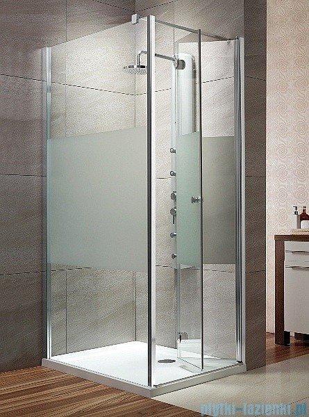 Radaway Eos KDJ-B kabina prysznicowa 80x100 prawa szkło przejrzyste + brodzik Doros D + syfon