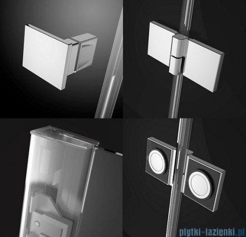 Radaway Essenza New Dwj drzwi wnękowe 120cm lewe szkło przejrzyste 385016-01-01L
