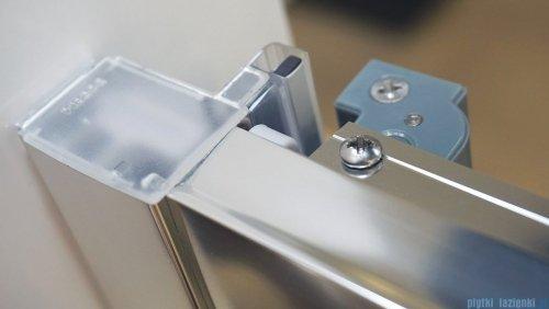 Omnires Chelsea drzwi prysznicowe 90x190cm przejrzyste NDT90XCRTR