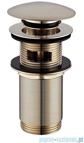 Omnires Korek klik-klak do syfonu umywalkowego złoto szczotkowane A706GLB