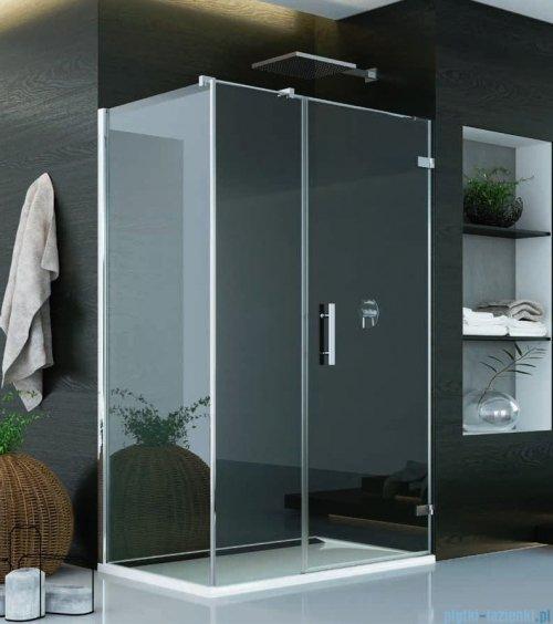 SanSwiss Pur PU31 Kabina prysznicowa 140x70cm prawa szkło przejrzyste PU31PD1401007/PUDT3P0701007
