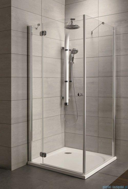 Radaway Torrenta Kdj Kabina prysznicowa 100x75 lewa szkło grafitowe