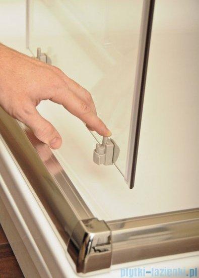 Ravak Blix BLDP4 drzwi prysznicowe 160cm satyna transparent Anticalc 0YVS0U00Z1