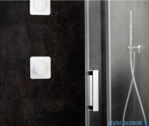 Ravak Matrix MSD2 drzwi prysznicowe 120cm lewe białe transparent 0WLG0100Z1