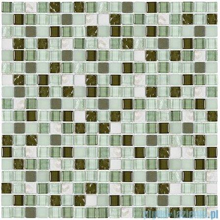 Dunin Aurora mozaika kamień/szkło 30x30 nephrite 15