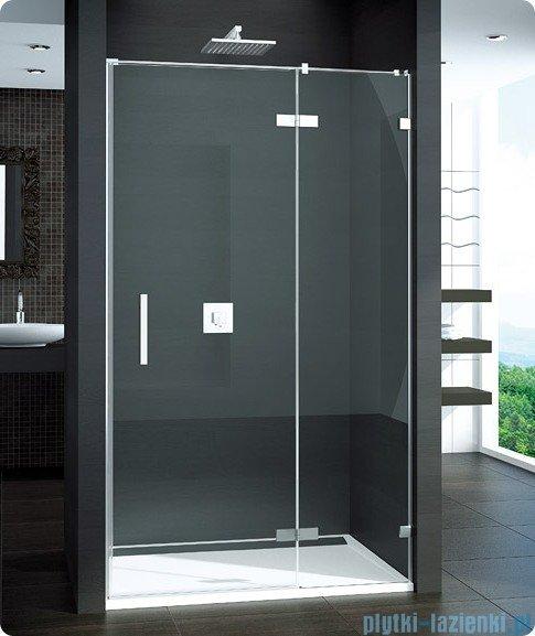 SanSwiss Pur PU13 Drzwi 1-częściowe wymiar specjalny profil chrom szkło Master Carre Prawe PU13DSM11030
