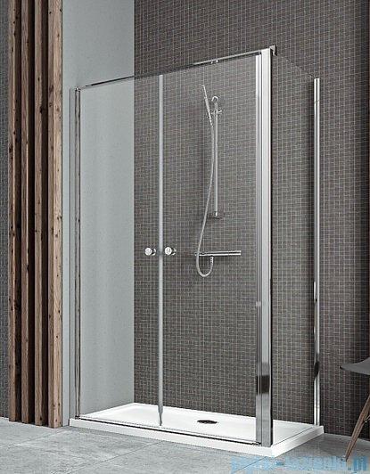 Radaway Eos II DWD+S kabina prysznicowa 80x75cm lewa szkło przejrzyste kabina prysznicowa