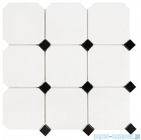 Dunin Black & White mozaika kamienna 30x30 Pure octagon 100