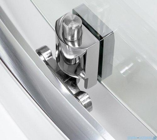 New Trendy New Varia kabina asymetryczna 120x85x165 cm przejrzysta K-0508